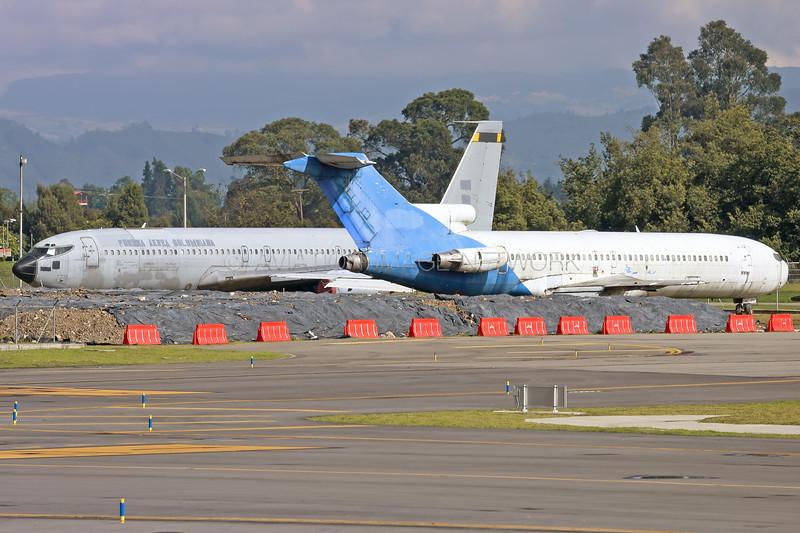 FAC-1247 | Boeing 727-2B7 | SATENA | FAC-1201 | Boeing 707-373C | Fuerza Aerea Colombiana