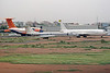 ST-AFA | Boeing 707-3J8C | Sudan Airways | CCCP-65039 | Tupolev Tu-134A-3 | Aeroflot | ST-ASX | Ilyushin Il-76TD | United Arabian Airlines