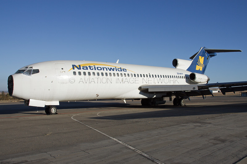 ZS-NYY | Boeing 727-95 | Nationwide