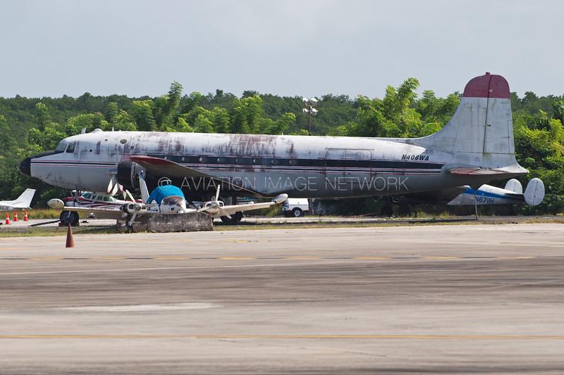 N406WA | Douglas C-54G Skymaster | Jet One Express