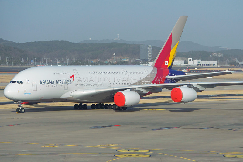 HL7640 | Airbus A380-841 | Asiana Airlines
