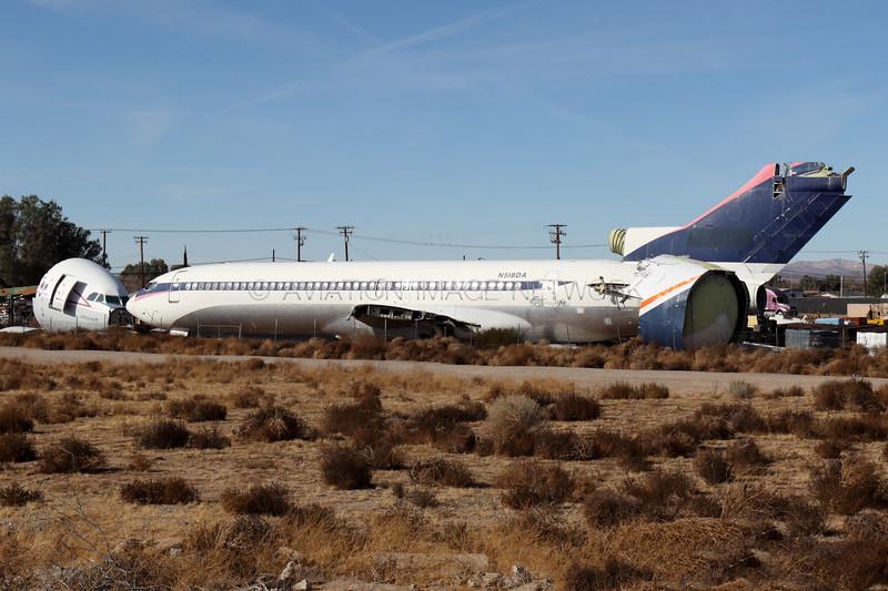 N518DA | Boeing 727-232(Adv) | Delta Air Lines