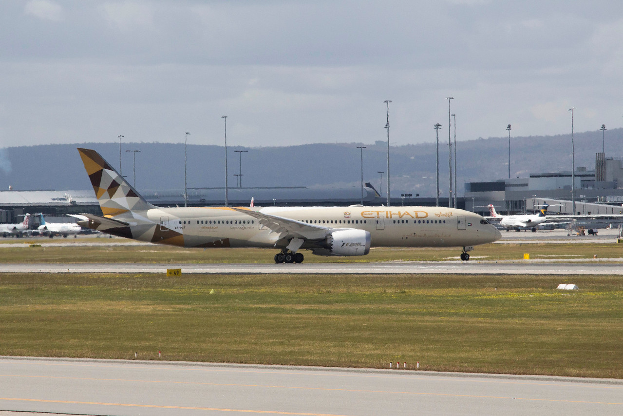 Etihad Airways Boeing 787 Dreamliner