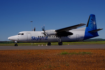 VH-FNI TARMAC GERALDTON WA 17th AUGUST 2012