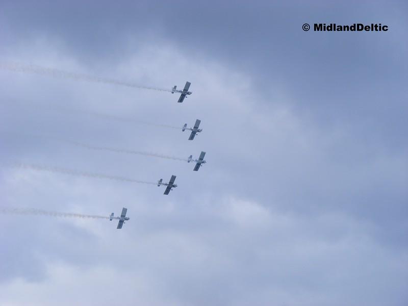 G-MAXV, G-VFDS, G-EGRV, G-CIBM, G-CDPJ, Bray Air Spectacular, 20-07-2014