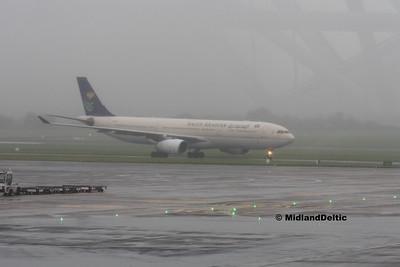 Saudi Arabian HZ-AQE, Dublin Airport, 02-08-2016