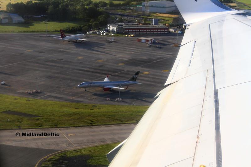 Jet Magic 9H-AVM, Omni Air International N225AX, Dublin, 21-07-2017