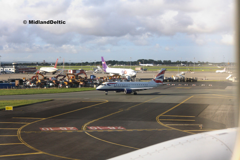 British Airways Cityflyer G-LCYD, Dublin, 21-07-2017