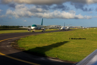 Queue for hold at Dublin, 21-07-2017