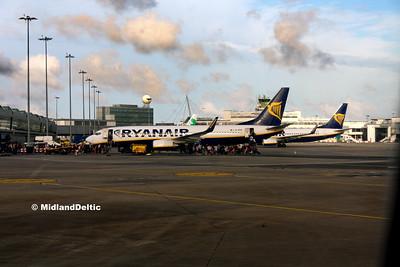Ryanair EI-ENX, EI-FTP, Dublin, 21-07-2017