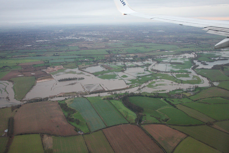 Flooding of River Trent, 09-01-2016