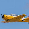 The borrowed 'harvard' undergoing air to air air training during my visit