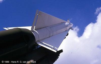 Nike ground to air rocket