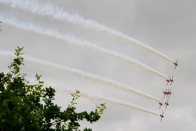 2006-07-09 Goodwood Festival of Speed, Red Arrows