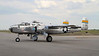 The quality of this image is a littler lower than I would normally post as it is a screen capture from a video I made of this B-25 starting up.