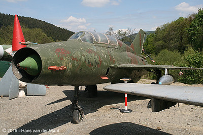 MiG 21 twoseater.