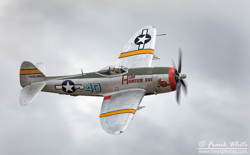 "P-47 Thunderbolt ""Hun Hunter XVI"""
