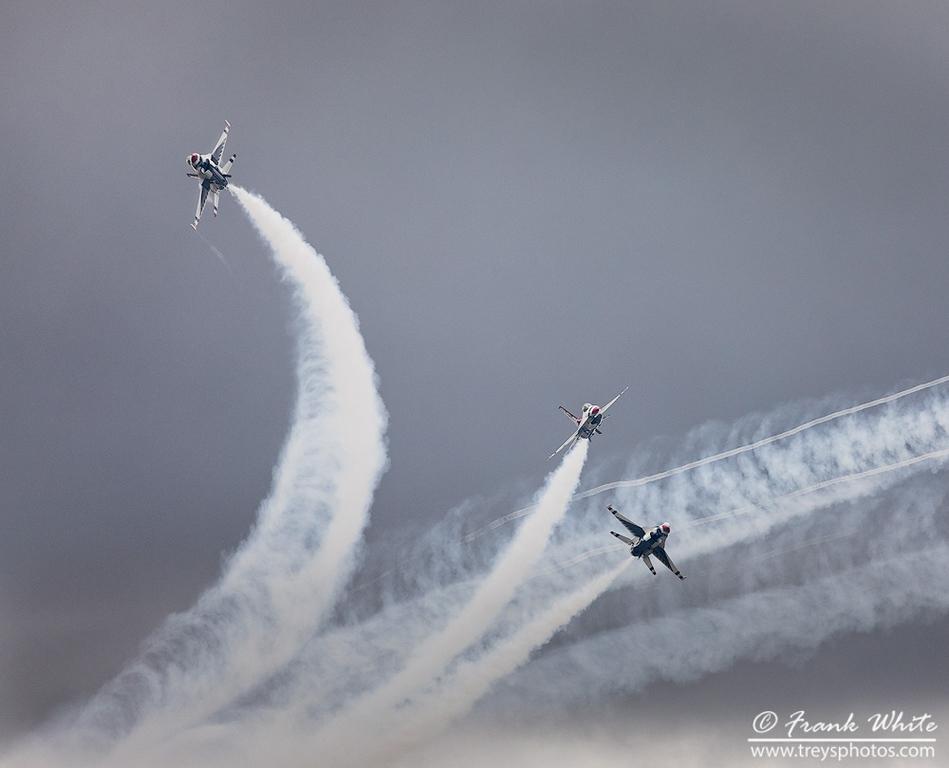 US Air Force Thunderbirds (F16)