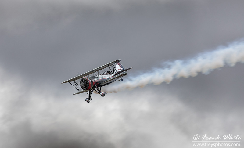 Kyle Frankin Dracula aerobatic biplane