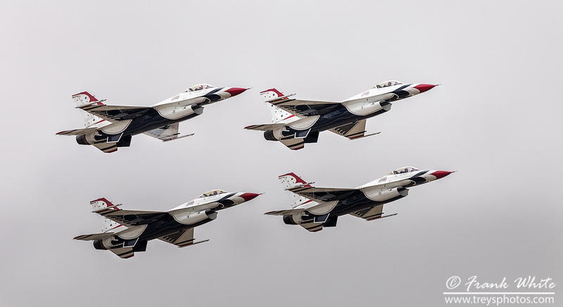US Air Force Thunderbirds (F16)