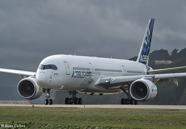 A350-941 XWB at Wellington 2018