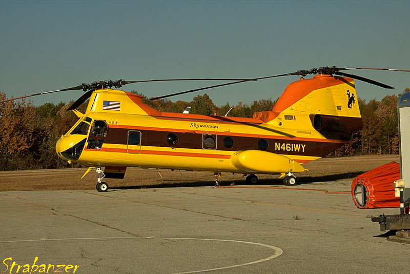 Boeing-vertol CH-46D N461WY