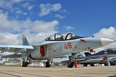 Yak-130 RF-44445/48 Red