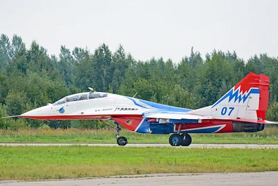 """MiG-29UB Fulcrum-B """"07 Blue"""""""