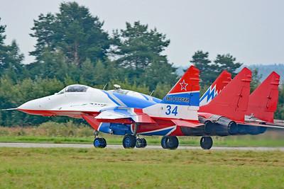 """MiG-29S Fulcrum-C """"34 Blue"""""""