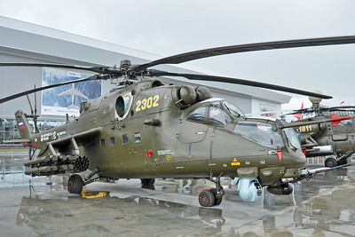 "Mil Mi-35M Crocodile ""2302 Yellow"""