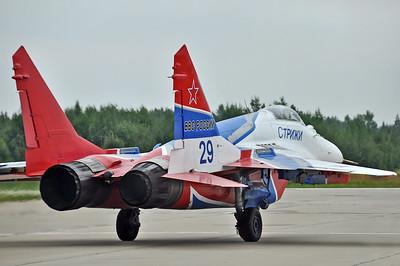 """MiG-29S Fulcrum-C """"29 Blue"""""""