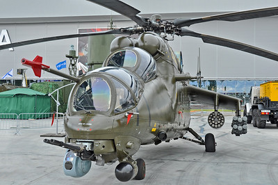 "Mi-35M Crocodile ""2302 Yellow"""