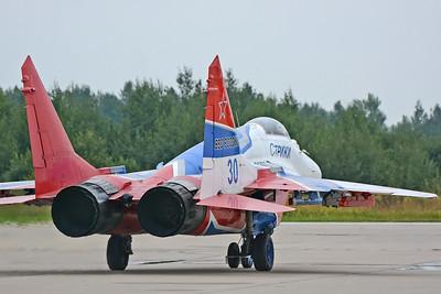 """MiG-29S Fulcrum-C """"30 Blue"""""""