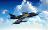 Hawker Hunter fighter RAF