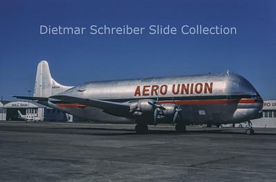1984-04-22 N422AU Boeing 377MG Mini Guppy (c/n 15937) Aero Union