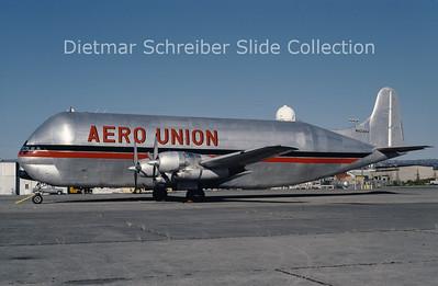 1985-09 N422AU Boeing 377MG Mini Guppy (c/n 15937) Aero Union