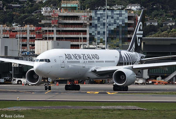 Air New Zealand Refuelling at Wellington 2017