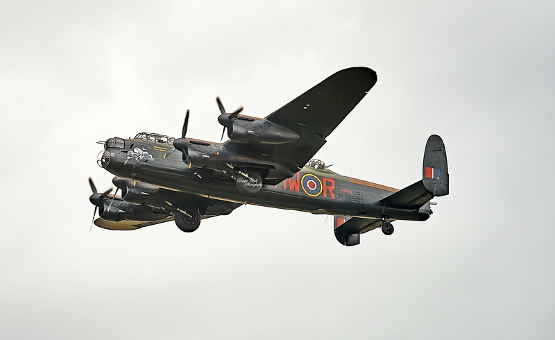 Avro Lancaster (PA474) at East Fortune - 28 July 2007