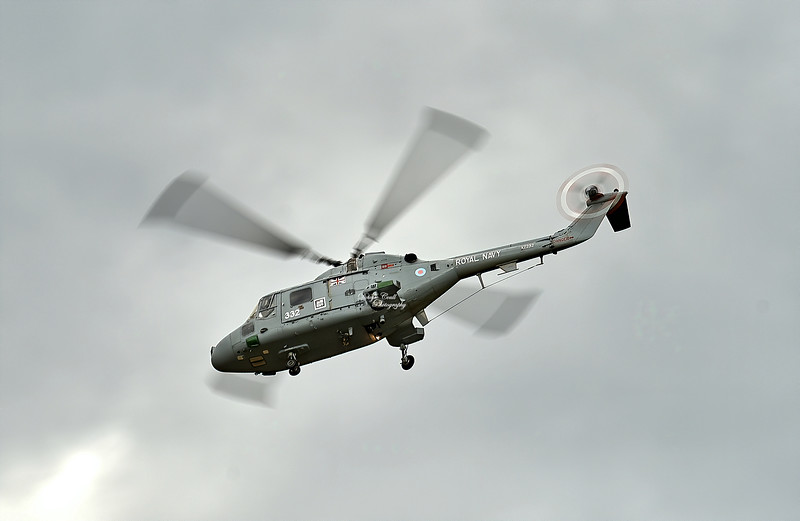 Westland Lynx HAS2 (XZ232) used by Fleet Air Arm (Royal Navy at East Fortune - 28 July 2007