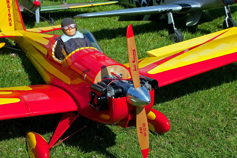 Cute Wee Fella Pilots Model Aircraft