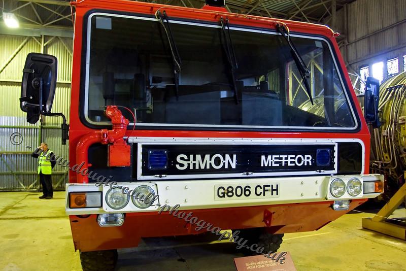 Simon Meteor Mark 2 - Vintage Fire Tender