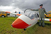Air Cadet's Glider - East Fortune - 28 July 2012