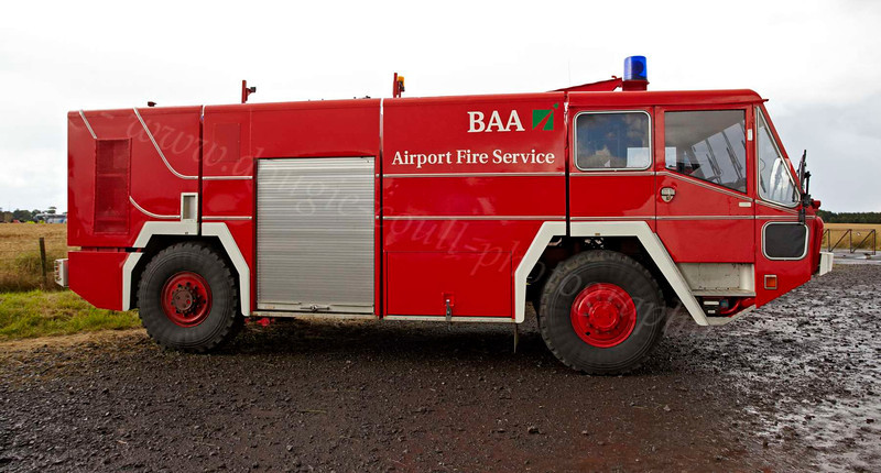 BAA Airport Fire Appliances East Fortune - 28 July 2012