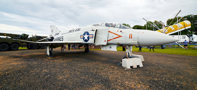 McDonnell Douglas F-4S Phantom II (VMFA-232 / 5848) at East Fortune - 25 July 2015
