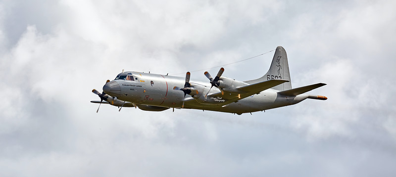 Norwegian Navy Lockheed P-3C Orion at East Fortune - 25 July 2015