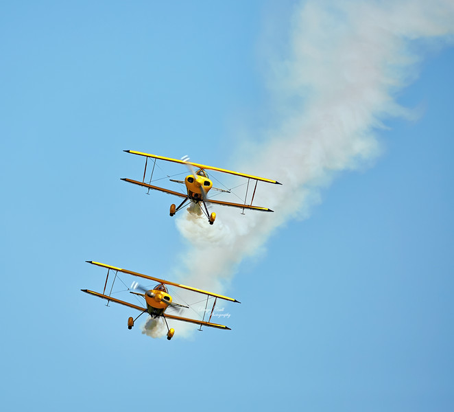 Trig Aerobatic Team at East Fortune - 25 July 2015