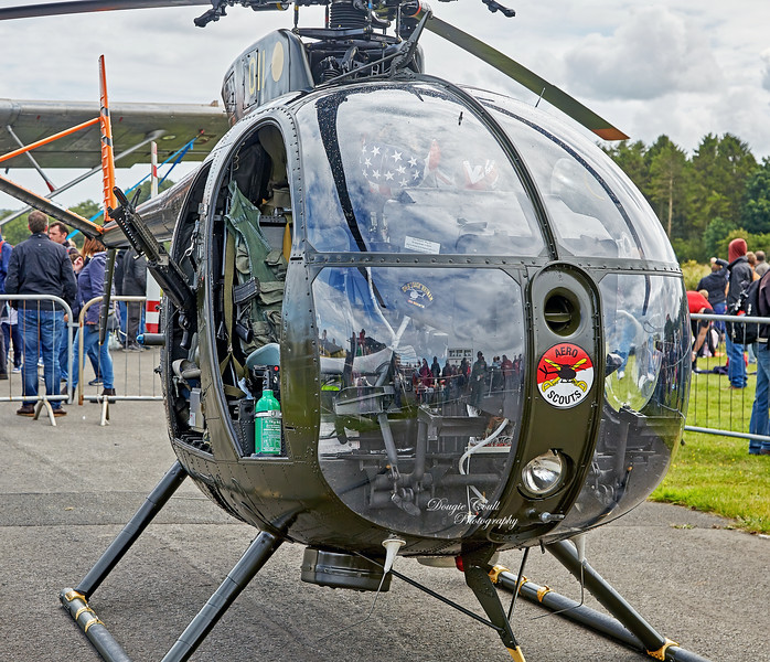 Helicopter OH-6A 69-16011at East Fortune - 25 July 2015