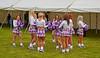 Cheerleaders at East Fortune - 25 July 2015