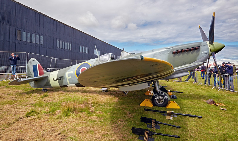 Supermarine Spitfire IX Replica (BS435) at East Fortune - 25 July 2015