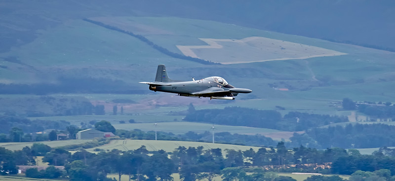BAC 167 Strikemaster Mk.87 (G-UVNR) at East Fortune - 23 July 2016